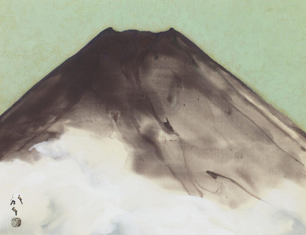 川端龍子「富士」